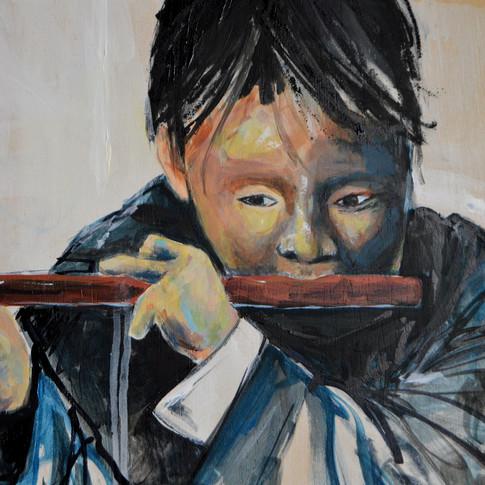 Menino da flauta