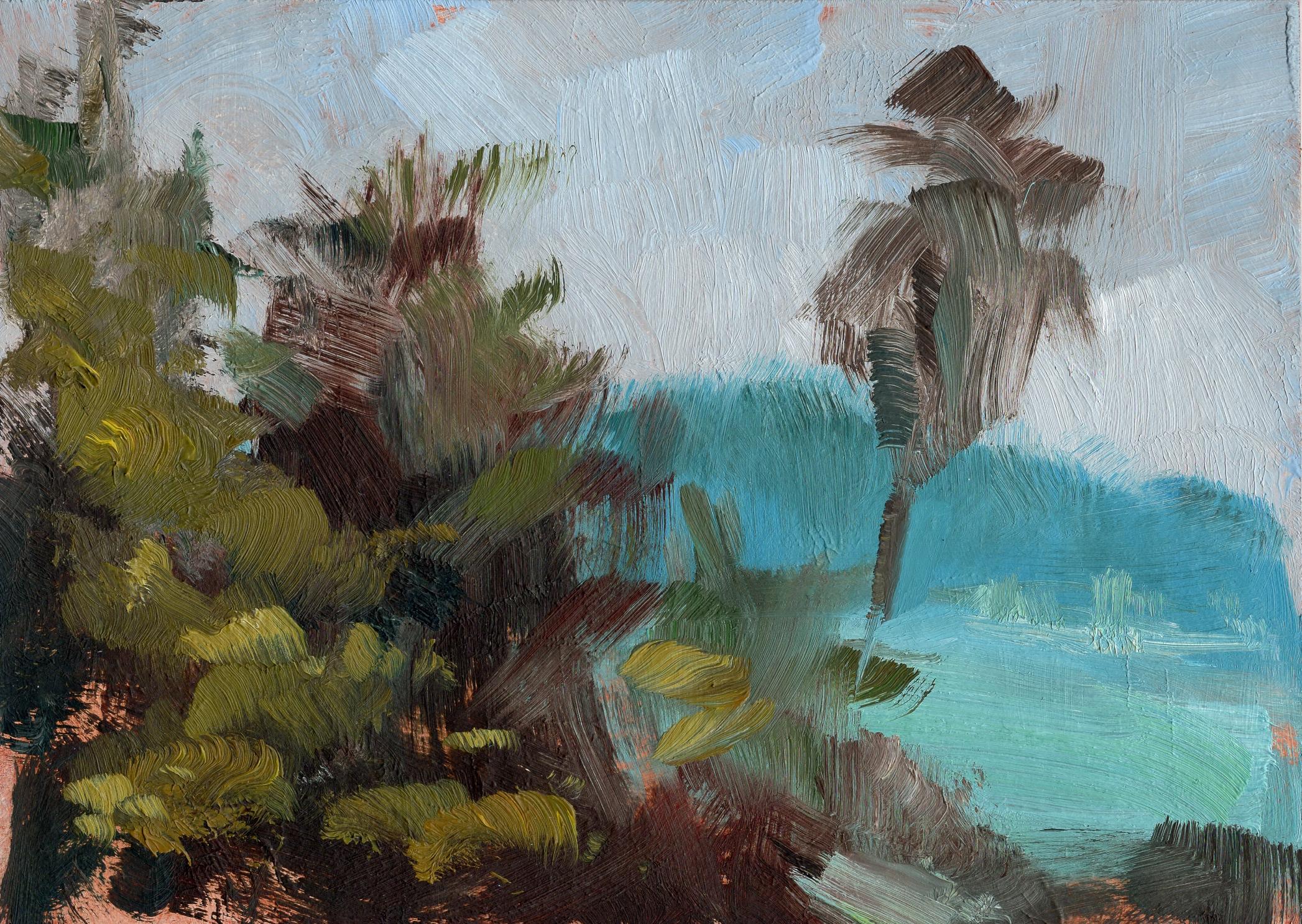 laguna beach (oil)
