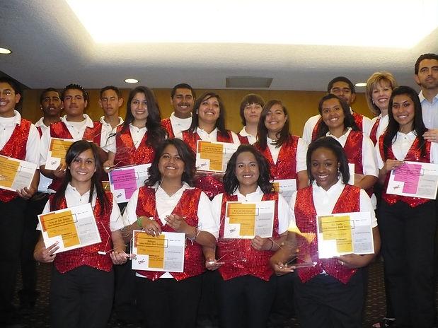 Scholarship recipients 2010.JPG