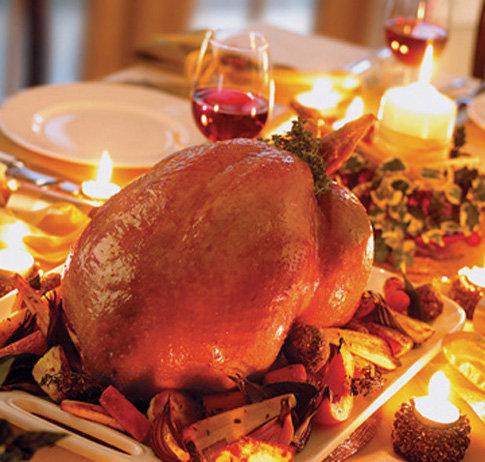 Organic Roasted Turkey Menu