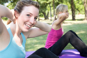 Women Fitness Personal Trainer Instructo