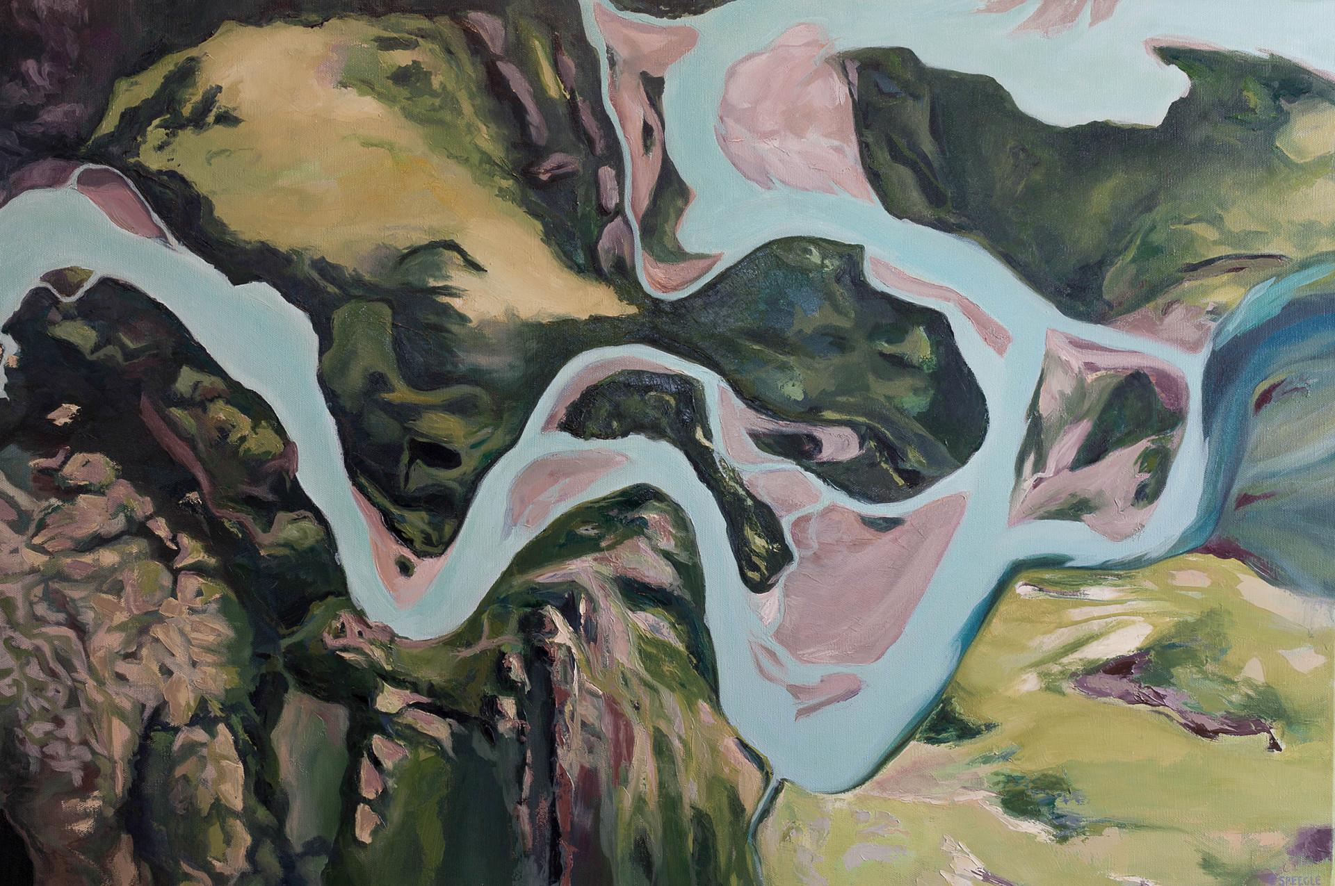 Where the Serrano River Meets the Rio Grey