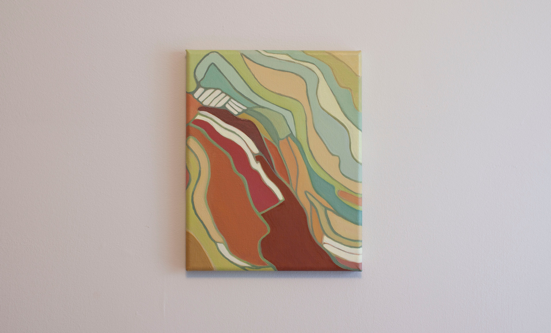 "10.00"" x 7.88"" Oil on Canvas"