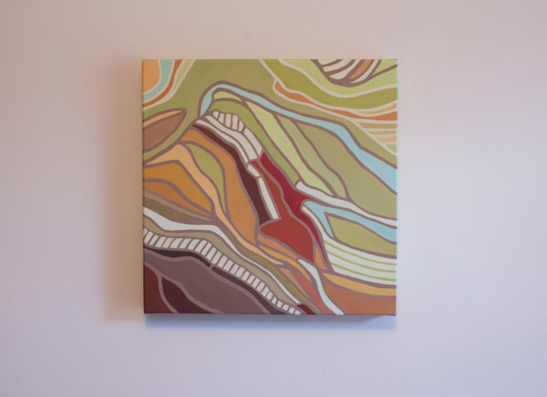 "12.00"" x 12.00"" Oil on Canvas"