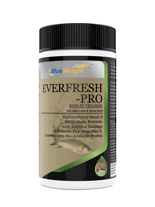 Aqua Probiotic for Biofloc Use - 500 GM - 15B CFU/g For Fish and Shrimp
