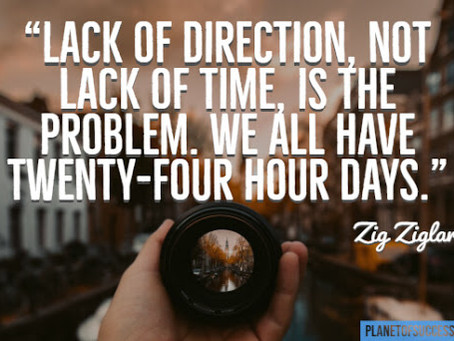 Don't think in hours per week, think in outcomes per year!