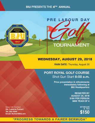 4th Annual Pre Labour Day Golf Tournament