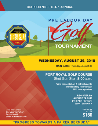 4th Annual Pre Labour Day Golf Tournament