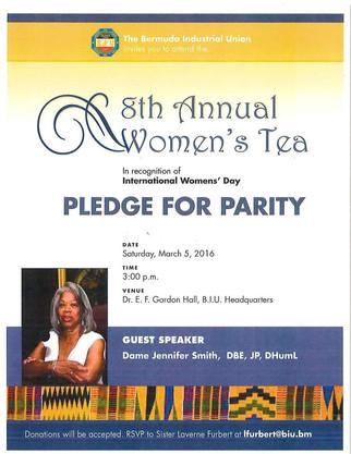 BIU's 8th Annual Women's Tea