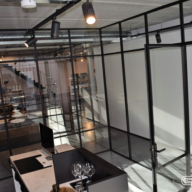 Bureel showroom