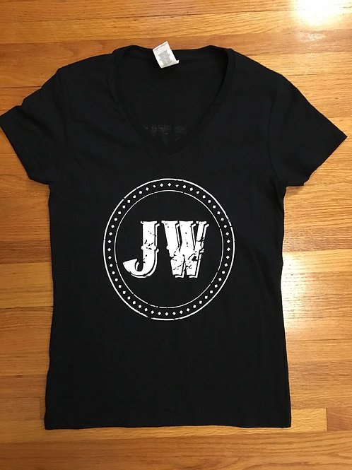 WOMEN'S V NECK T SHIRT