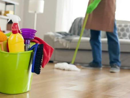 Forgotten Areas to Clean