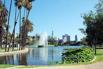 Echo Park Lake | Los Angeles Apartment Complex
