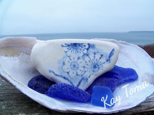 Blue Floral 977
