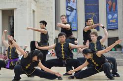 Kung Fu Demo at Texas State Fair
