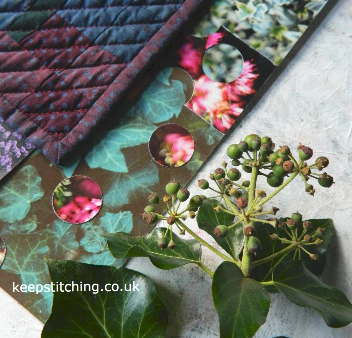 Colour Inspiration. Winter ivy