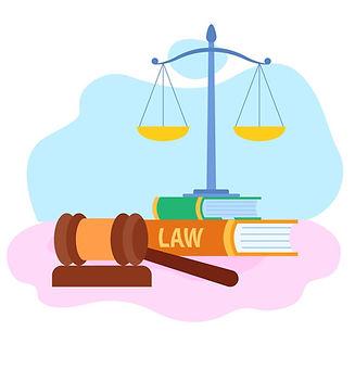 law-and-justice-symbols-flat-vector-2511
