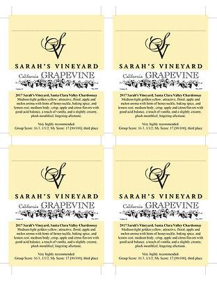 2017 SCV Chardonnay Sarah's Vineyard-Gra