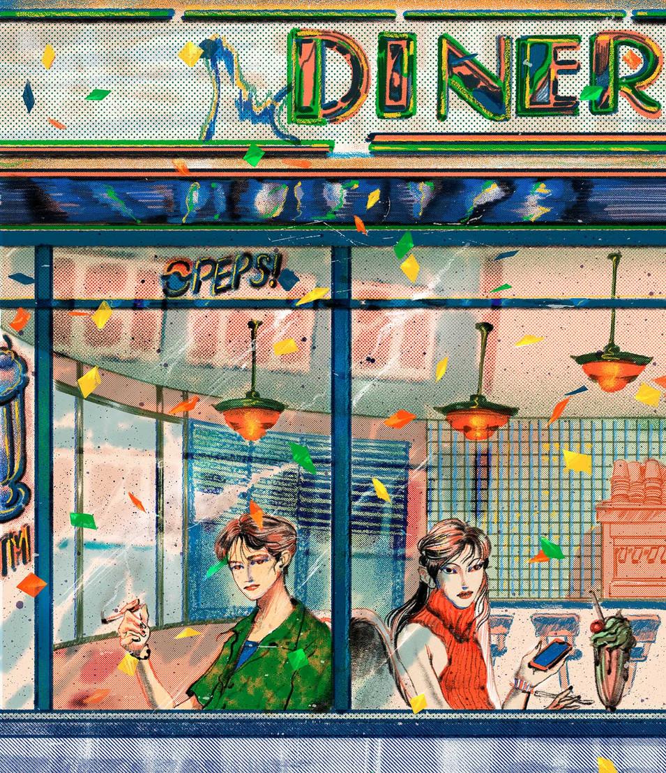 Diner in New York