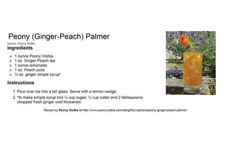 Peony(Ginger-Peach)Palmer