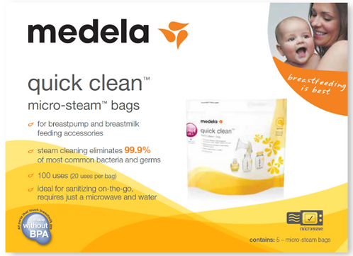 Medela Micro-Steam Bags (5)