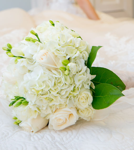 A Beautiful Bridal Bouquet