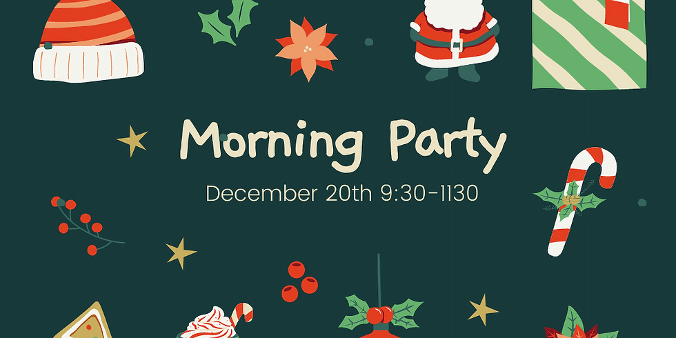 Christmas Morning Party