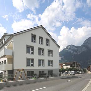 Mehrfamilienhaus Dorfstrasse 20, Wangs