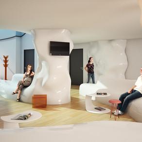 Wettbewerb Lounge Klinik Valens
