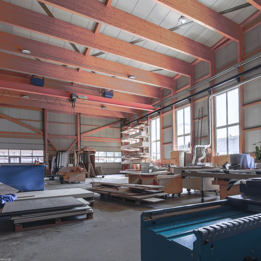 Industriehalle Bruwild, Walenstadt