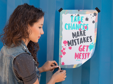 mockup-template-of-a-girl-taping-a-poster-to-a-wall-a10413.png