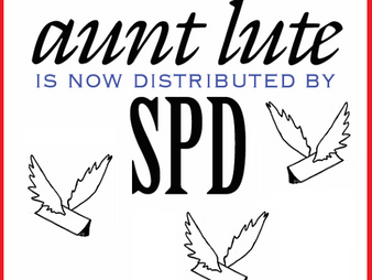 Small Press Distribution now exclusive distributor for Aunt Lute Books