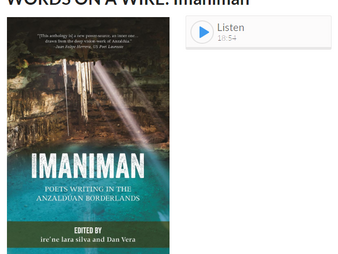 Imaniman editors interviewed for Words On A Wire radio show