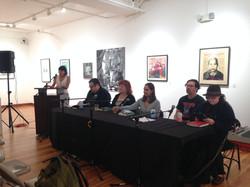 Imaniman Poetry Reading Panel Photo