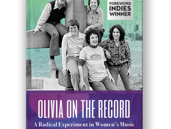 Olivia on the Record wins a Foreword INDIES Silver Award