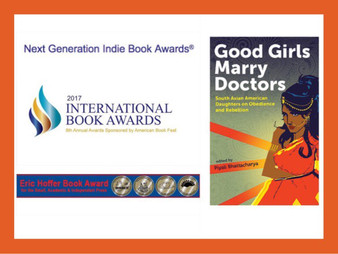 Good Girls Marry Doctors recognized for three major book awards