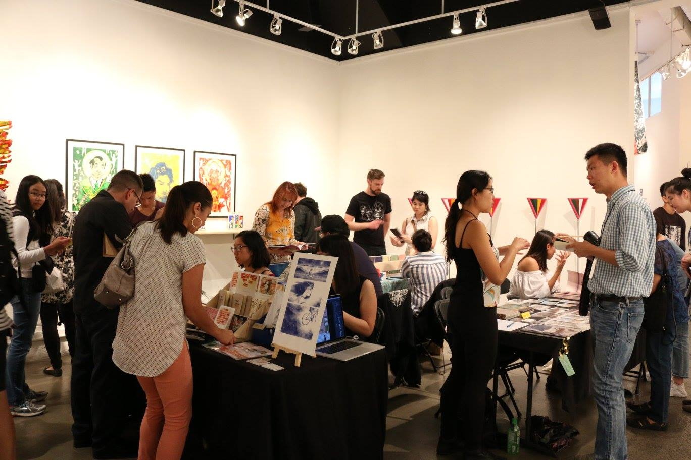 Art and zine vending at APAture