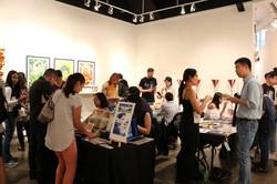 Art and zine vending at APAture