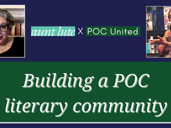 Building a POC literary community