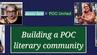 Building a POC literary community