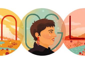 Google Doodle Honors Gloria Anzaldúa