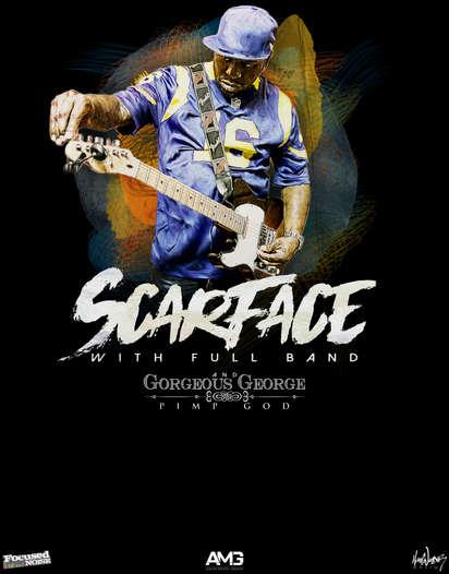 Scarface tour poster