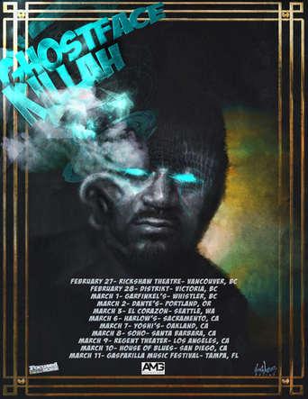 Ghostface Killah tour poster