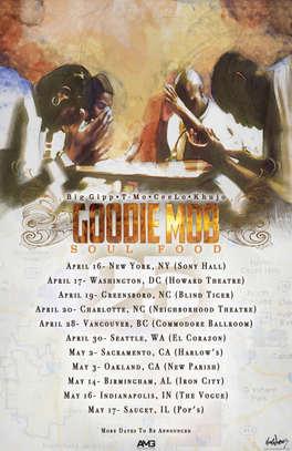 Goodiemob 25th Anniversary TOUR Poster