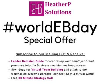 World Employer Branding Day Special Offer