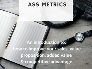"""10 steps to create kick ass metrics - An introduction to: How to improve your sales, value pro"