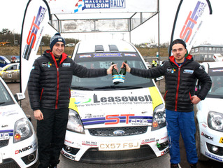 SENSATIONAL RALLY WIN FOR YOUNG WELSH PAIR