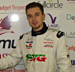 'Junior British Rally Champion Signs for SVG Racing'