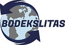 Bodekslitas. Bodex. Logo. Įvairios naujos priekabos, puspriekabės.