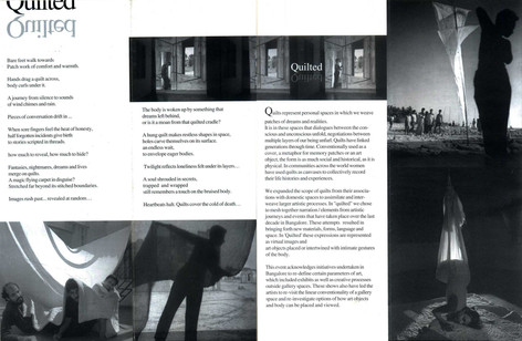 Quilted - Handout